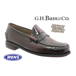 Bass Penny Loafers  Model# NAPLESBUR