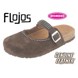 Flojos Clogs  Model# FLOJO-BROWN