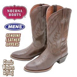 Nocona Competitor Western Boots - Brown  Model# NB1205