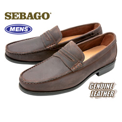 Sebago Back Bay Loafers - Brown  Model# B89003