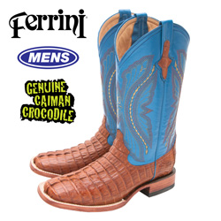 Ferrini Caiman Crocodile Boots  Model# 1049302