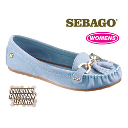 Sebago Cypress Moccasins - Blue  Model# B400021