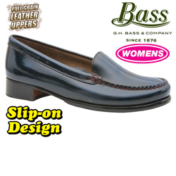 Bass Womens Madison Loafers - Blue  Model# MADISON-1 BLUE
