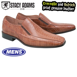 Stacy Adams Teague Slip-Ons - Cognac  Model# 24599-221