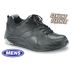 Mens Victory Lace-Up Shoes - Black  Model# 11320