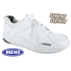 Mens Victory Lace-Up Shoes - White  Model# 81320