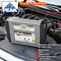 Peak Battery Charger/Maintainer&nbsp;&nbsp;Model#&nbsp;PKCOCV