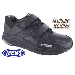 Mens Victory Strap Shoes - Black  Model# 11321