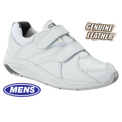Mens Victory Strap Shoes - White  Model# 81321