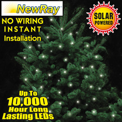 100 Bulb Solar Christmas Lights  Model# GA-111B