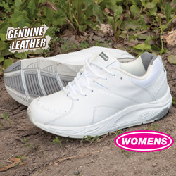 Womens Winner Lace-Up Shoes - White  Model# 81317