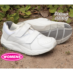 Womens Winner Strap Shoes - White  Model# 81318