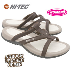 Womens Fiji Sandals - Chocolate  Model# 40741