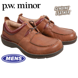 P.W. Minor Rome Shoes - Brown  Model# 31460