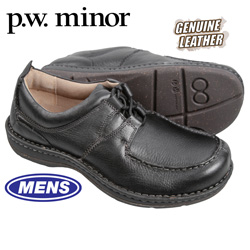 P.W. Minor Rome Shoes - Black  Model# 11460