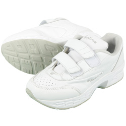 Spira Womens EZ Strap Shoe - White  Model# SWW602