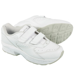Spira Mens EZ Strap Shoe - White  Model# SWW601