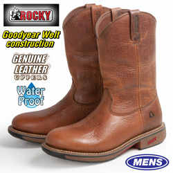 Rocky Waterproof Pull-On Boots  Model# 4181