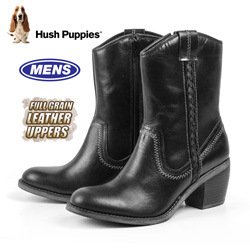 Hush Puppies Waterproof Boots - Black  Model# H506734