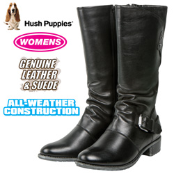 Hush Puppies Chamber Boot - Black  Model# H507050