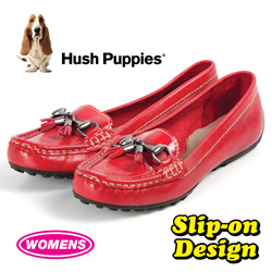 Hush Puppies Dalby Slip-Ons - Red  Model# H506691