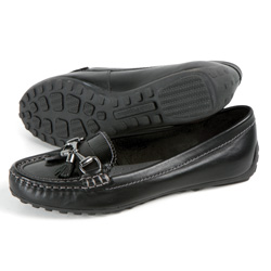 Hush Puppies Dalby Slip-Ons - Black  Model# H506992