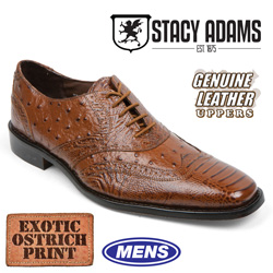 Stacy Adams Ostrich Print Shoes  Model# 24777-701