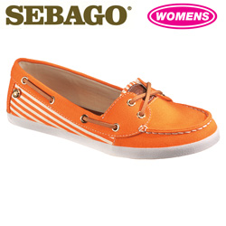 Sebago Fayette Shoes - Orange  Model# B400112
