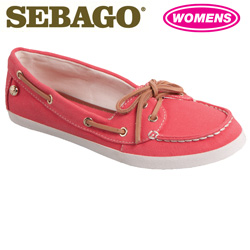 Sebago Fayette Shoes - Red  Model# B400113