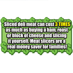 Metal Meat Slicer  Model# 8808