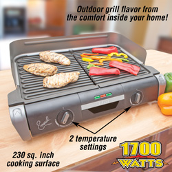 Emeril XL Electric Grill&nbsp;&nbsp;Model#&nbsp;XL-1700