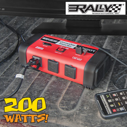 Rally Game Day 200 Watt Inverter  Model# 7460