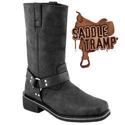Harness Boots - Size: 8.5 99717J