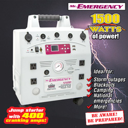 Emergency Home & Auto Power Kit  Model# GG5515