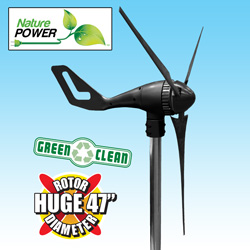 400Watt Wind Turbine  Model# 70400