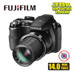 Fuji 14MP 30X Optical Zoom Camera&nbsp;&nbsp;Model#&nbsp;FINEPIX S4500 KIT