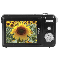 Vivitar Black 10.1 Megapixel Digital Camera With Kit  Model# VX327BC-BLK-KIT