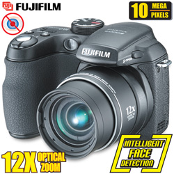 Fuji 10 Megapixel 12X Optical Zoom Digital Camera  Model# S1000