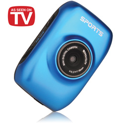 Cobra Action Sports Cam - Blue  Model# HDVC2900-BLUE