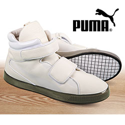 Puma High-Top Sneakers - Size: 10.5 99950N