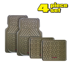 4 Piece Tan Firehawk Mat  Model# FS-1943