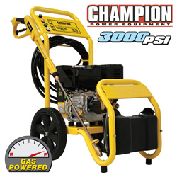 3000PSI Champion Pressure Washer&nbsp;&nbsp;Model#&nbsp;76503
