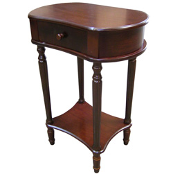 29 Inch Wide Cherry Side Table&nbsp;&nbsp;Model#&nbsp;H-114A