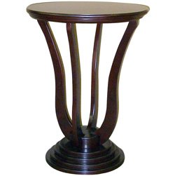 26.5 Inch Cherry Accent Table  Model# H-140