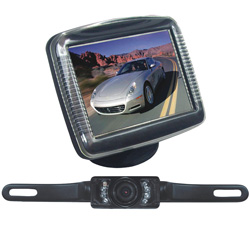 Pyle Rearview Camera with 3.5 Inch Monitor&nbsp;&nbsp;Model#&nbsp;PLCM36
