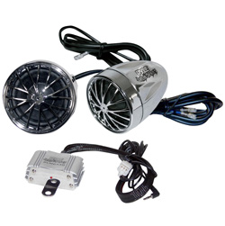 Pyle Motorcycle Audio Speaker Package  Model# PLMCA30