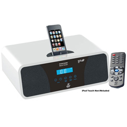 AM/FM 2.0 Channel Clock Radio - 200 Watts  Model# PHSCI20W