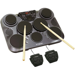 Electronic Drum Set - Table Top&nbsp;&nbsp;Model#&nbsp;PTED01