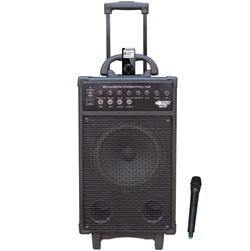 Pyle Pro Wireless Powered iPod PA System&nbsp;&nbsp;Model#&nbsp;PWMA930I