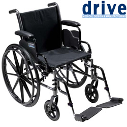 18 Inch Cruiser III Wheelchair&nbsp;&nbsp;Model#&nbsp;K318DDA-SF
